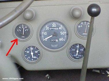 jeep parts jef - Fuel Gauge Adjusting on