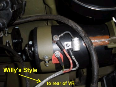 [DIAGRAM_4PO]  Wiring or re-wiring steps for you early to mid WWII Willys jeep - jeep  parts jef | Willy S Jeep Alternator Regulator Wiring |  | jeep parts jef